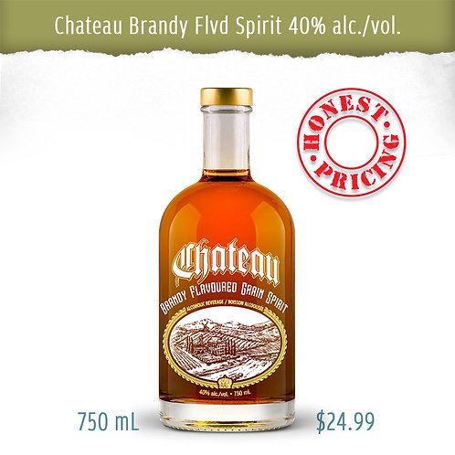 "BRANDY FLVD SPIRIT ""Perfect Sipping Companion"""