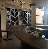 Bar sitting area