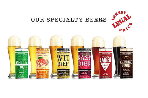MINHAS SPECIALTY BEERS, Brewery Fresh, All Natural