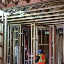 Interior construction start