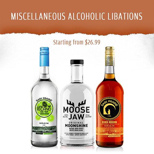 MISCELLANEOUS ALCOHOLIC LIBATIONS