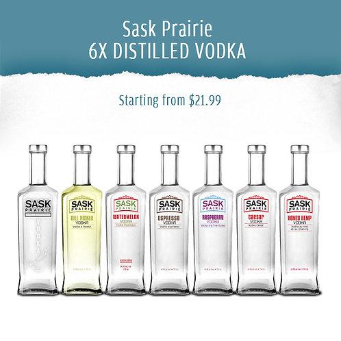 Sask Prairie 6X DISTILLED VODKA