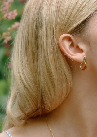 Paprica Hoop Earrings