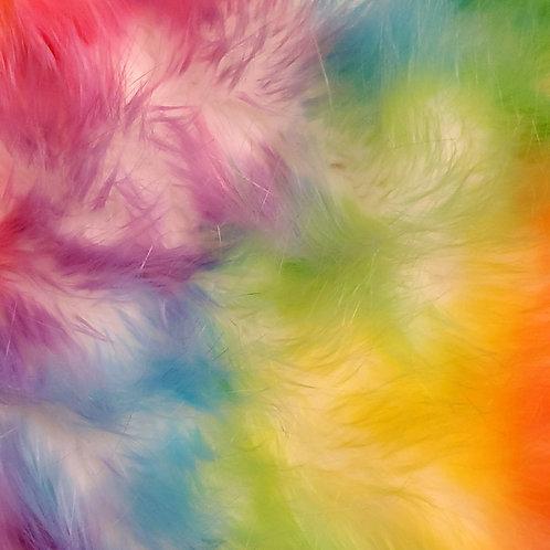 Custom Creamy Rainbow Furry Fantasy Unicorn Headpiece Prop