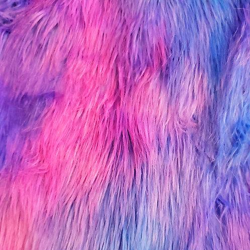 Custom Cotton Candy Furry Fantasy Unicorn Headpiece Prop
