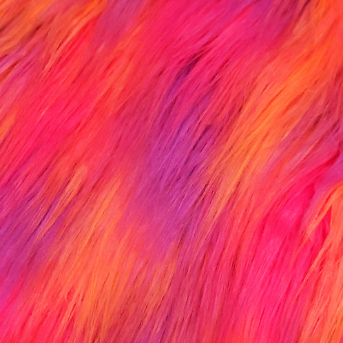 Custom Sunset Sorbet Furry Fantasy Unicorn Headpiece Prop