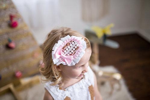 Sweet Gingerbread Lolita Bow Headpiece