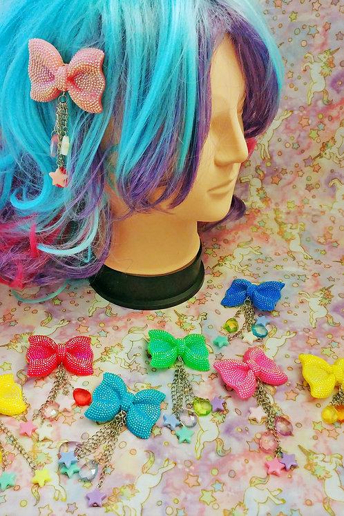 Kawaii Bow Hair Clips