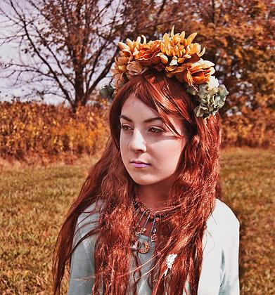 """Custom Big Floral """"Frida"""" Headpiece"""