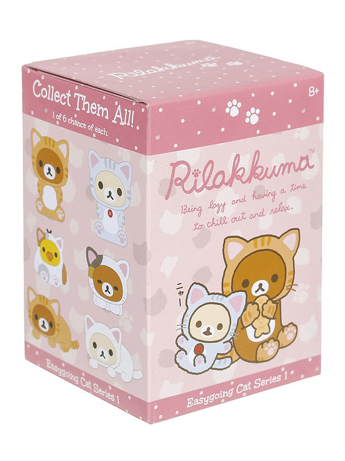 "San-X Rilakkuma™ Blind Box ""Easy Going Cat"" Series"