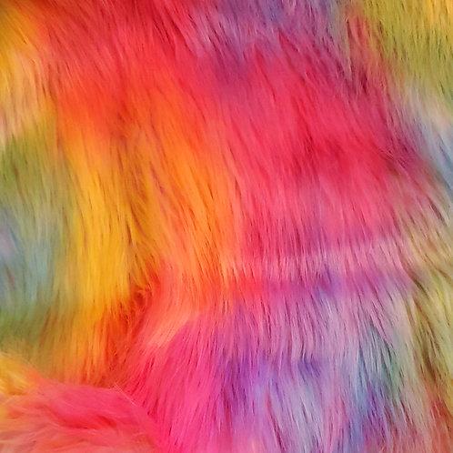 Custom Berry Rainbow Furry Fantasy Unicorn Headpiece Prop