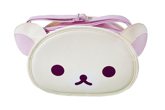 San-X Korilakkuma™ Face Crossbody Bag Purse Rilakkuma™