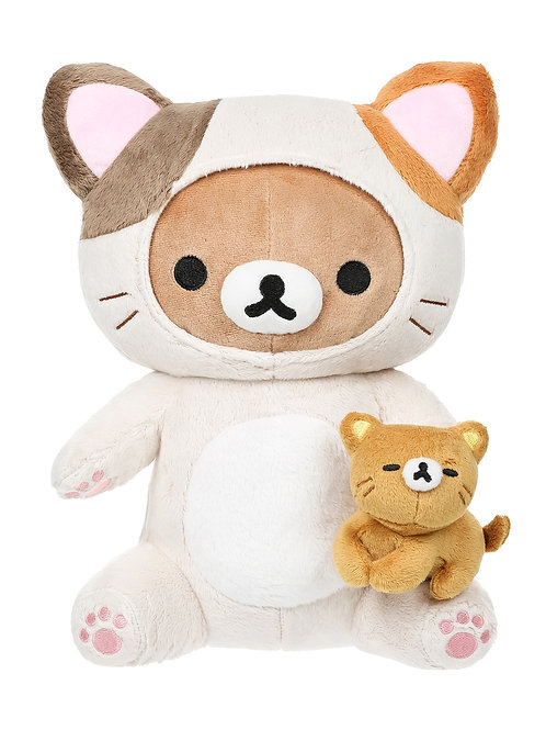 San-X Rilakkuma™ Cat Cosplay Playing with Kitty Plush Toy