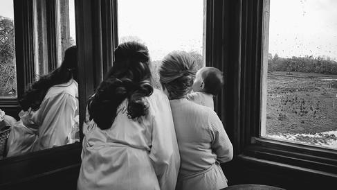 Wedding Markree Castle, Co.Sligo, Bride preperation