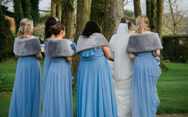Wedding Clonabreeney House, Co. Meath, Bridesmaid
