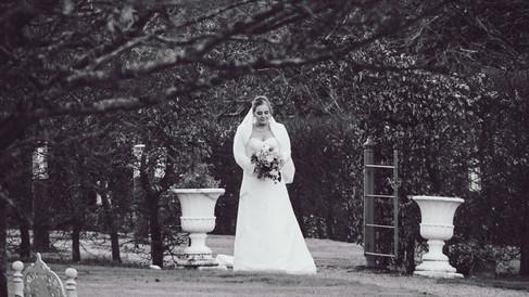 Wedding Clonabreeney House, Co. Meath, Bride