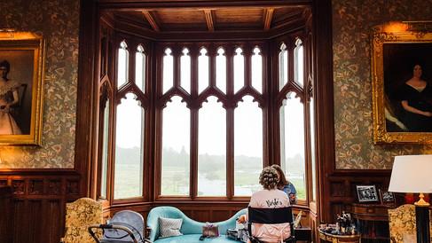 Wedding Markree Castle, Co.Sligo, preperation