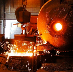 Monometer Melting and Refining Rotary Furnaces