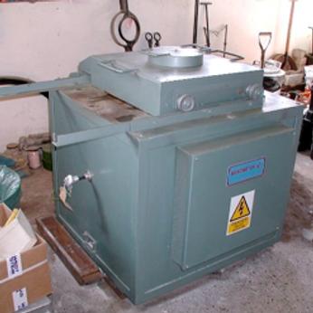 Crucible Melting Furnaces for Aluminium Alloys