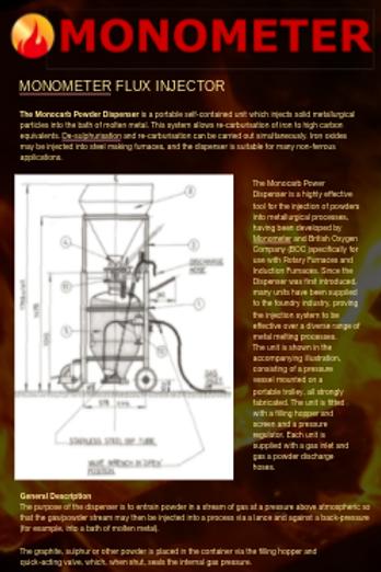 Flux injector brochure