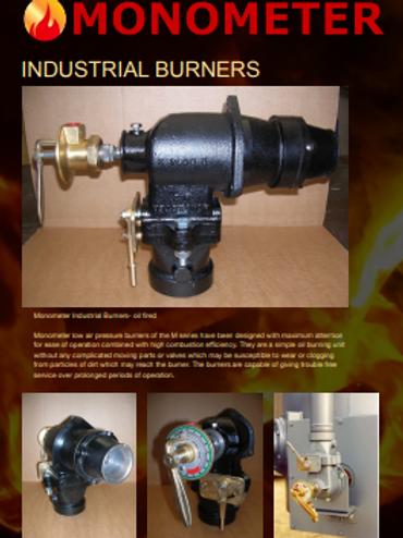Brochure - Monometer M series burner - oil