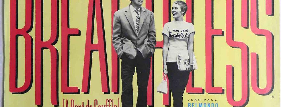 Breathless (A Bout de Souffle) (1957, re-release 1985)