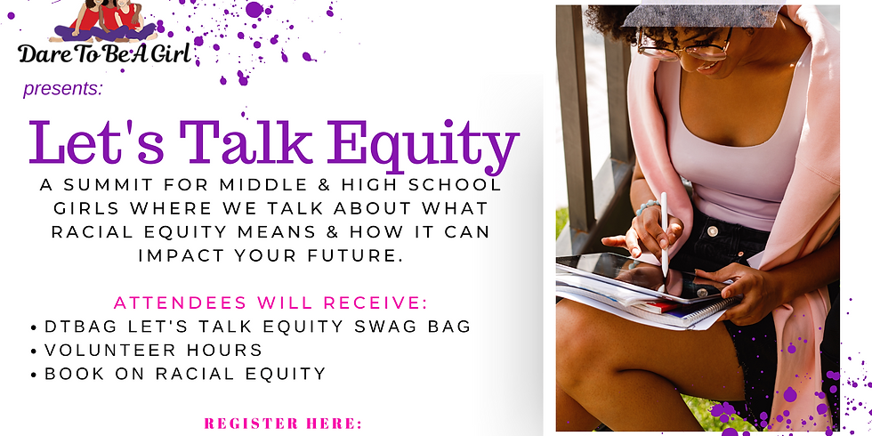 Let's Talk Equity!