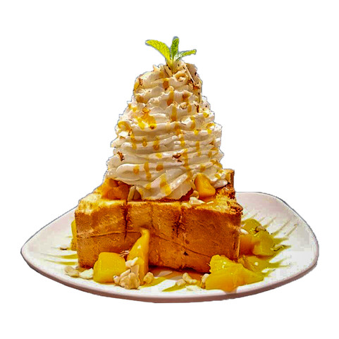 Mango Brick Toast