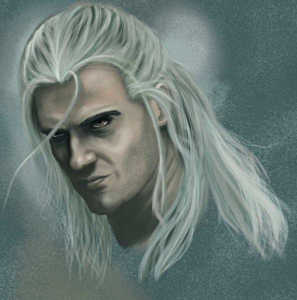 Witcher Digital Painting
