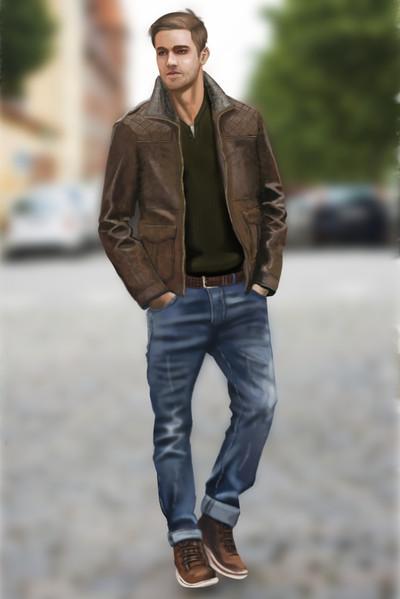 Fashion Digital Painting