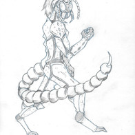 Insect Concept Character