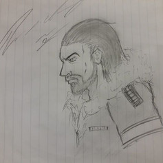 Drew this waiting for my class to start
