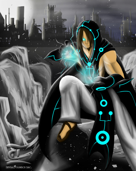 Electric Mage Concept Art