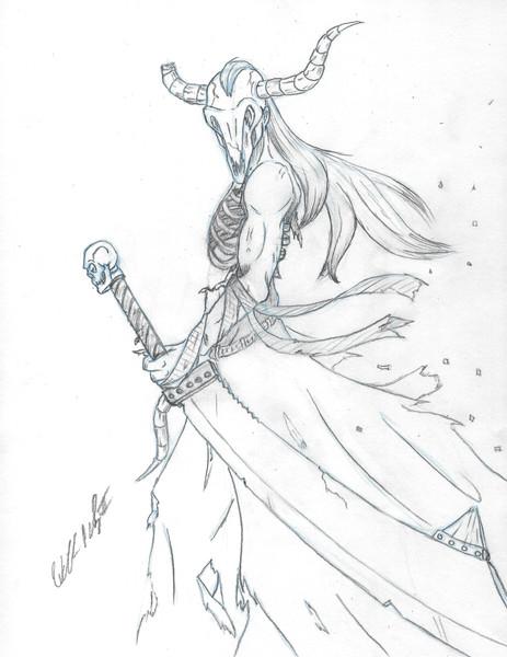Bone Concept Character