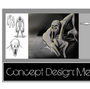Melting Man Concept