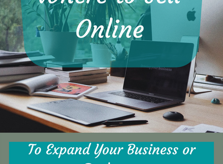 Where to Sell Online to Expand Your Business or Get Rid of Old Stuff