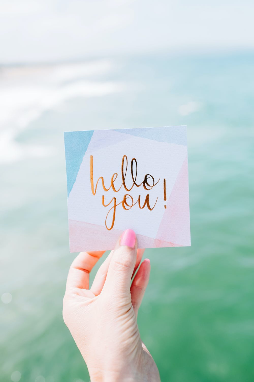 small greeting card
