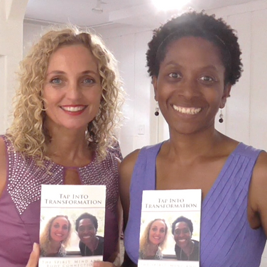 Tyffany with bestselling author, Sandra Kimler