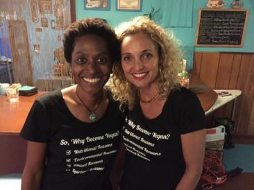 Tyffany with Sandra Kimler