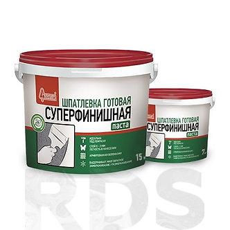 """Шпаклевка готовая """"Суперфинишная """" Старатели 15 кг"""
