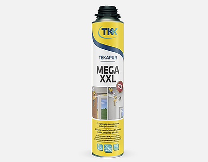 "Пена монтажная ""TEKAPUR MEGA XXL 70l"" (900мл)"