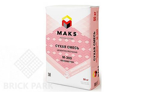 """Смесь универсальная """"М300 Пескобетон"""" MAX (40кг)"""