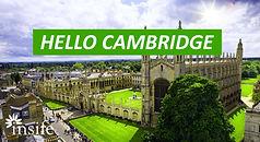 Hello Cambridge!
