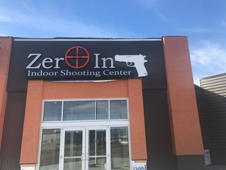 Equipment in place on a beautiful day at Zero In in Bozeman, Montana.