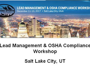 Carey's is proud to be a presenter and sponsor of the NSSF LEAD MANAGEMENT & OSHA COMPLIANCE