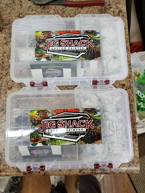 JIG SHACK TOURNAMENT PRO KIT!!!