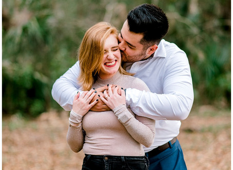 A Philippe Park Engagement Shoot | Florida Wedding Photographer | Chris & Katie