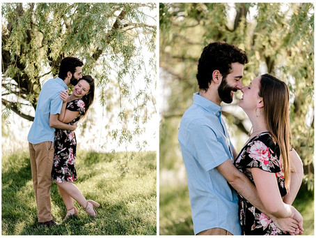 A joyful Cox Hall Gardens Engagement session | Indiana Wedding Photographer | Indianapolis, IN