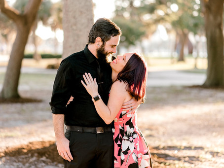 A Vinoy Park Couples Session | Florida Wedding Photographer | Ronald & Dawn