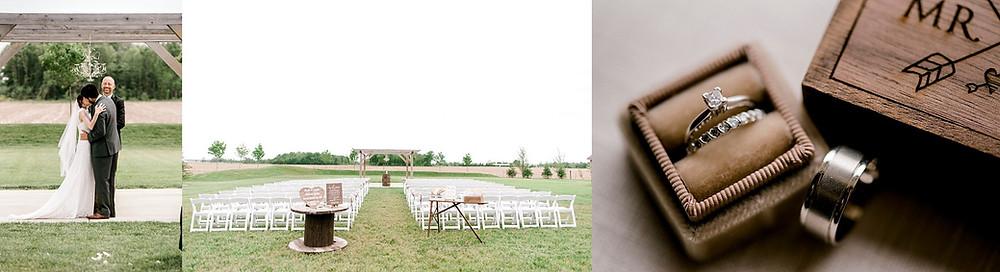 wedding ceremony wedding rings
